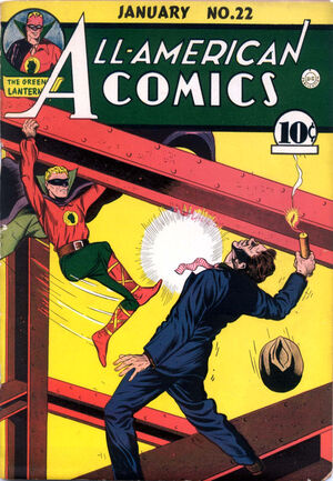 Cover for All-American Comics #22