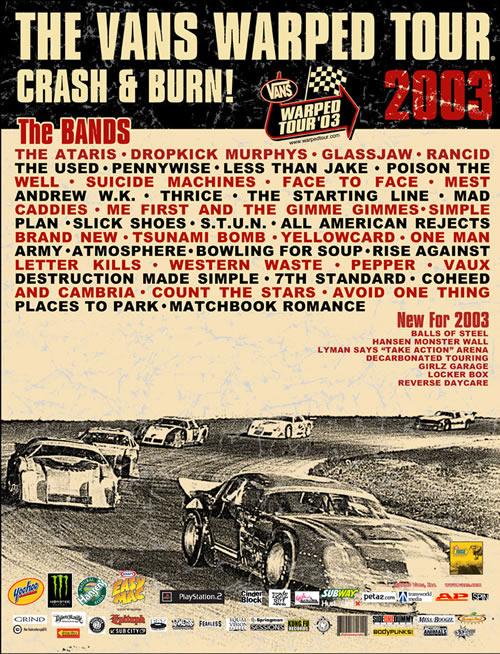 Warped Tour 2003 Less Than Jake Wiki