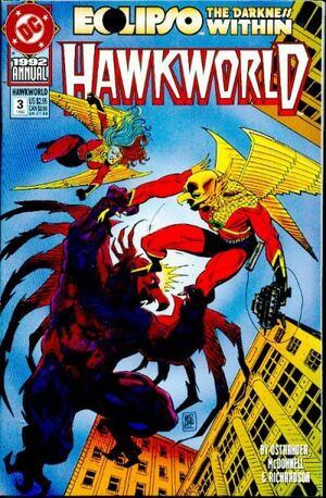 Cover for Hawkworld #3