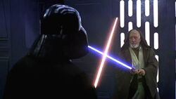 Obiwan-Vader duell