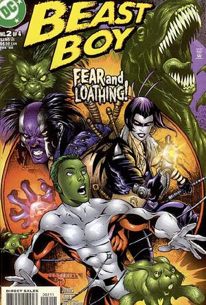 Cover for Beast Boy #2