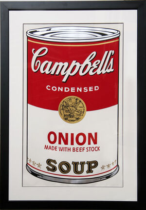 Warhol-Campbells Onion Soup