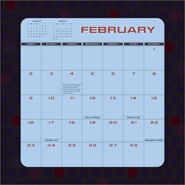 Star Trek Enterprise Calendar 2003 Feb bottom