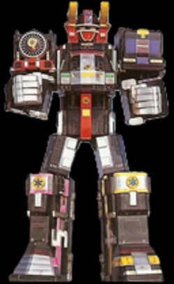 LR Super Train Megazord