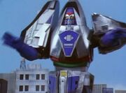 TF Time Force Megazord Mode Blue