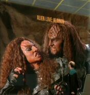 Klingons courting