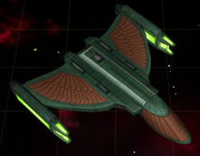Romulan colony ship