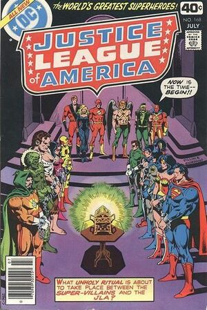Cover for Justice League of America #168