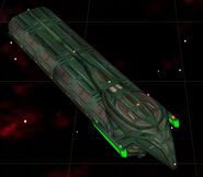 Romulan construction ship