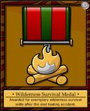 Wilderness Survival Medal