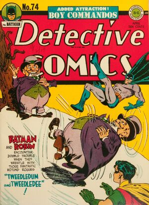 Cover for Detective Comics #74