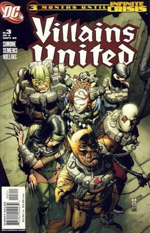 Cover for Villains United #3