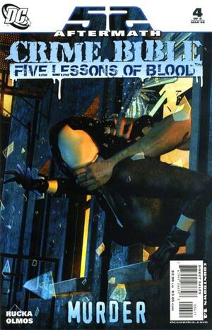 Cover for Crime Bible: Five Lessons of Blood #4
