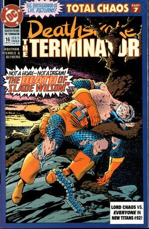 Cover for Deathstroke the Terminator #16