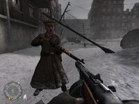 Volsky fighting in Stalingrad
