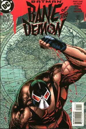 Cover for Batman: Bane of the Demon #1