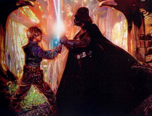 Luke Skywalker &amp; Darth Vader