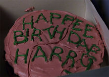 HagridBirthdayCake