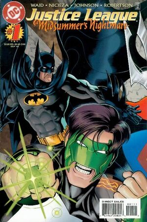 Cover for Justice League: A Midsummer's Nightmare #1