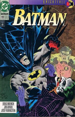 Cover for Batman #496