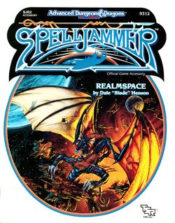 Spelljammer-Realmspace Book-Cover