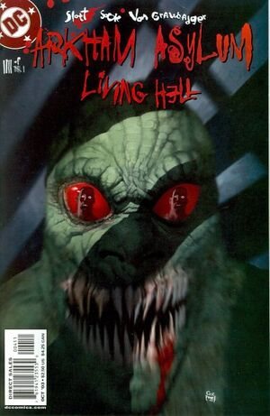 Cover for Arkham Asylum: Living Hell #4