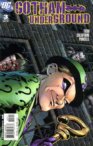 Cover for Gotham Underground #3