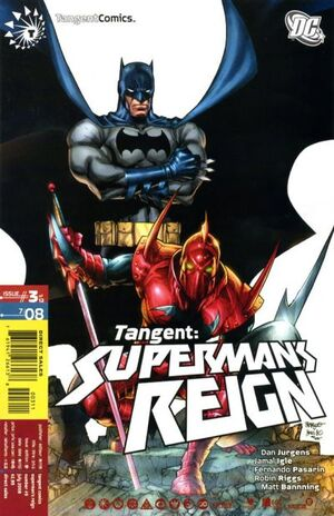 Cover for Tangent: Superman's Reign #3