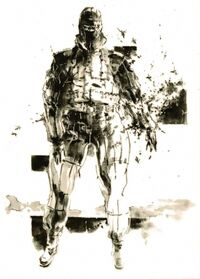 MGS3 The Pain Artwork