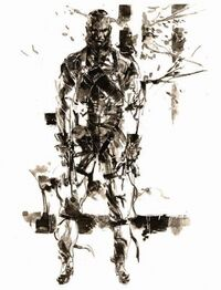 MGS3 The Fear Artwork
