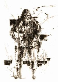 MGS3 The End Artwork