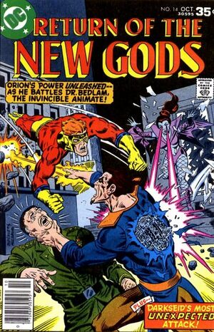 Cover for New Gods #14