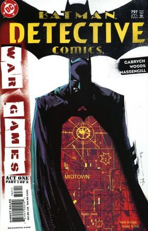 Cover for Detective Comics #797