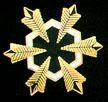 Six star rank pin