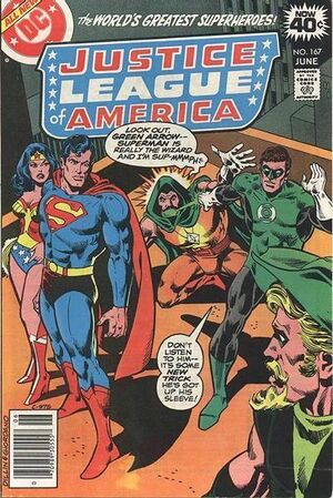 Cover for Justice League of America #167