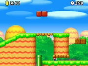 NSMB Screenshot Mini-Mario