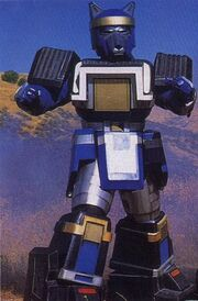 MMPR Blue Shoguzord