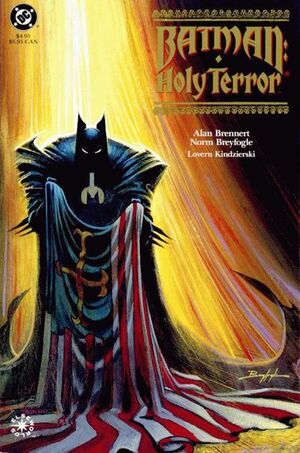 Cover for Batman: Holy Terror #1