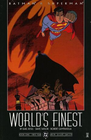 Cover for World's Finest #1