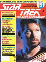 TNG Official Magazine issue 5 cover