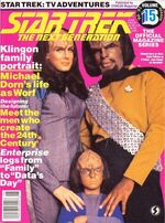 TNG Official Magazine issue 15 cover