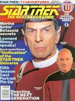 TNG Official Magazine issue 17 cover