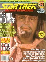 TNG Official Magazine issue 24 cover