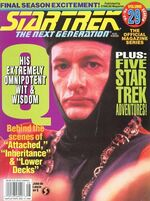TNG Official Magazine issue 29 cover