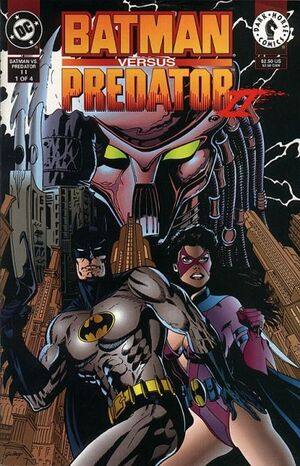 Cover for Batman versus Predator #1