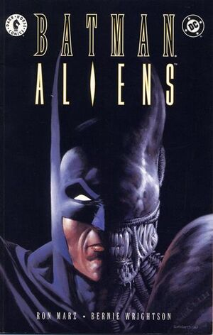 Cover for Batman/Aliens #1
