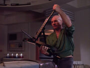 Picard with crossbow