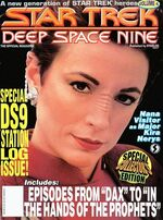 DS9 magazine issue 4 cover