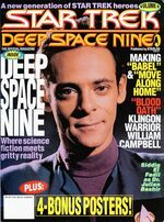 DS9 magazine issue 8 cover