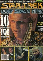 DS9 magazine issue 25 cover